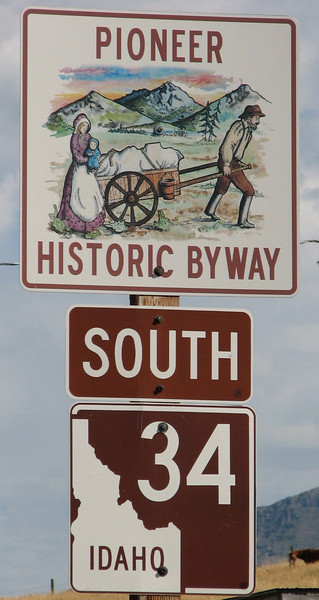 Highway 34 - Do You See the State or the Person Looking Down