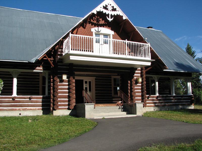 Visitor Center at Upper Mesa Falls - Was Built as an Inn  - Upper Mesa Falls - Ashton, ID  9-4-05