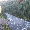 Snake River  - Upper Mesa Falls - Ashton, ID  9-4-05