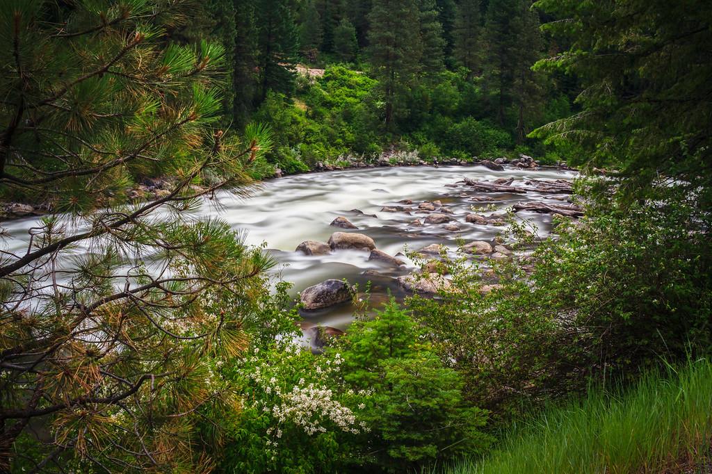 Payette River rapids