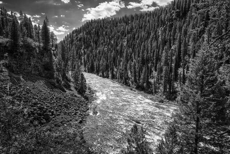 Near Lower Mesa falls