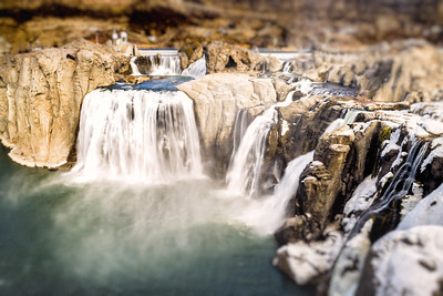 Shoshone Falls at Twin Falls Idaho