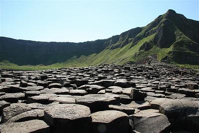 Giant's Causeway. Causeway Coast, Noord-Ierland.