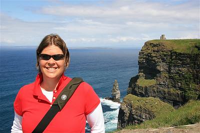 Cliffs of Moher, Ierland.