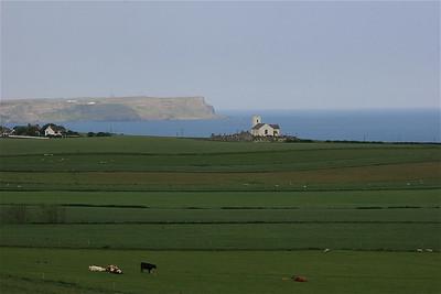 Ballintoy Coastline, Noord-Ierland.
