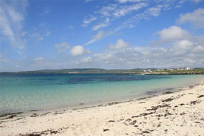 Coral Strand Beach. Clifden, Ierland.