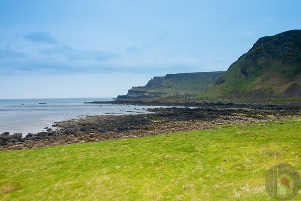 landscape from  County Antrim - Northern Ireland : UK