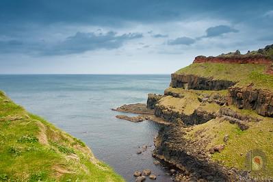 landscape from  County Antrim - Northern Ireland : UK
