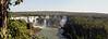 First glimpse of Iguazu.
