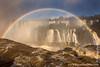 Brazilian Iguazu Falls Circular Rainbow