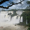 a few details: the waterfall system consists of 275 falls along 2.7km of the Iguazu river. Most falls are a little over 200ft high (64m), some up to 270 ft (82m).