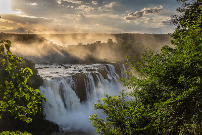 Photos from the Iguazu Falls, Brazil, March 2014