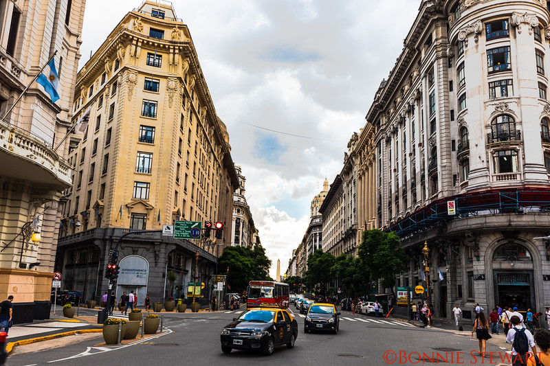 Streets of Buenos Aires reflect a European and Argentinian flare
