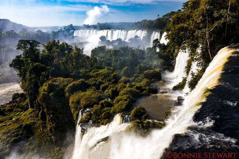 Iguazu Falls from the Upper Trail on the Argentinian side.  there are 275 falls in the park!
