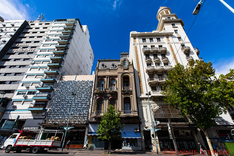 Eclectic architectural styles