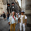 Colorful and friendly people on the streets of Buenos Aires