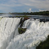 the beginning of Iguazu Falls.