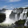 Dramatic Iguazu Falls.