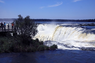 Iguazu Falls Argentina - a closer look