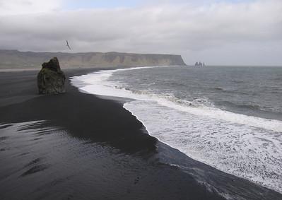 Zwarte strand