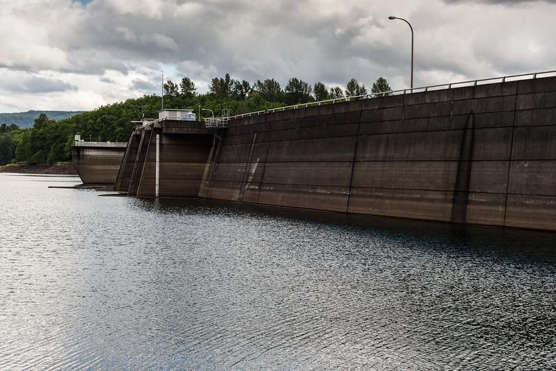 Mossyrock Dam & Riffe Lake