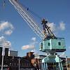 Portsmouth harbour crane