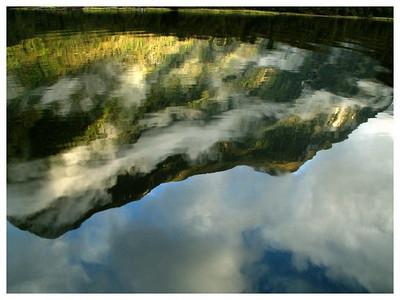 Reflet-Reflexion  Commander peak-Doubtfull sound-Fjordland National park
