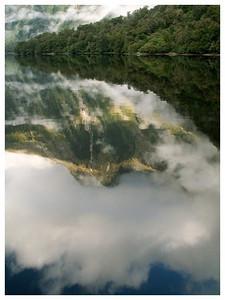 Reflet-Reflexion- Doubtfull sound-Fjordland national park