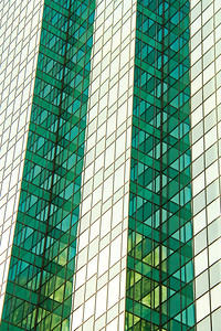 Glass Skyscraper with Multiple Angles