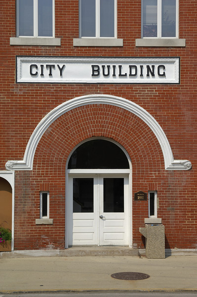 St. Charles, Illinois city building.