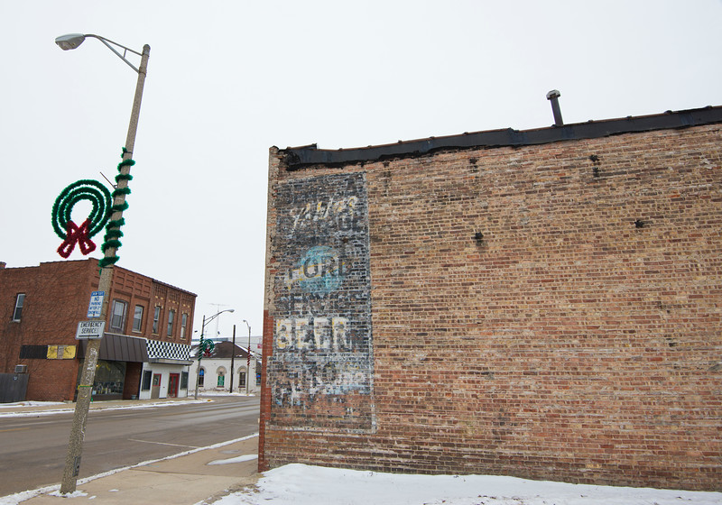 Ghost Sign Marseilles, IL