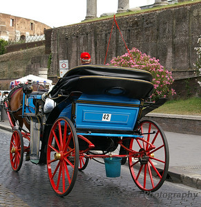 Colorful Church Carriage