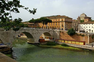 Tevere River Bridge, Rome