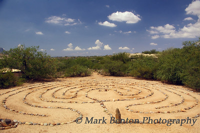 Labyrinth at Miraval Resort