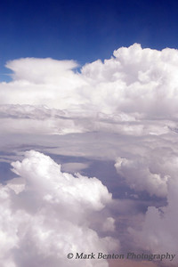Cloudscape Clouds from Flight