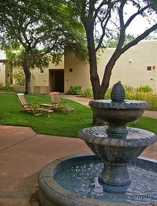 Meditation Courtyard & Fountain