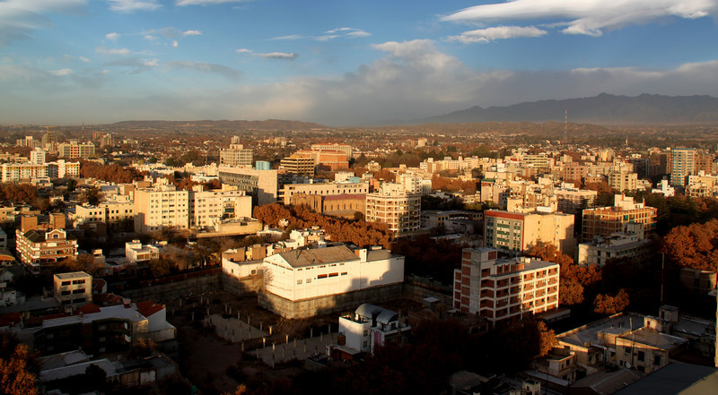 An Aerial View of Mendoza