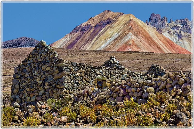 Ruinas en El Volcan Tunupa