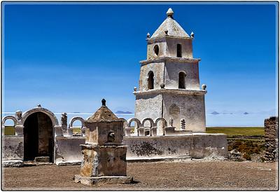 Templo en el Salar de Tunupa