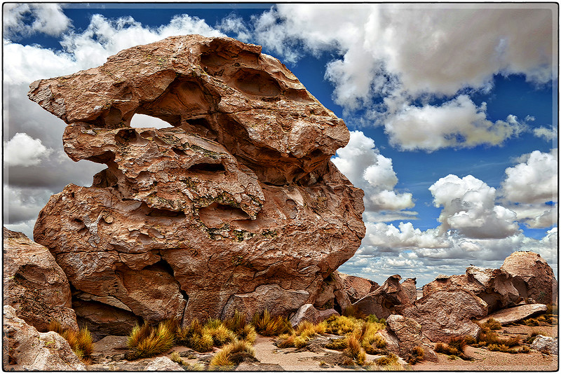 Formaciones en el Valle de Rocas