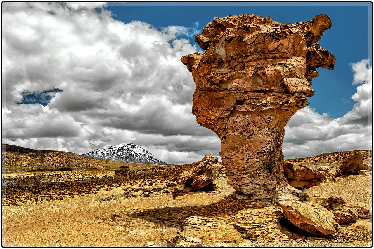 Pedestal, Valle de Rocas