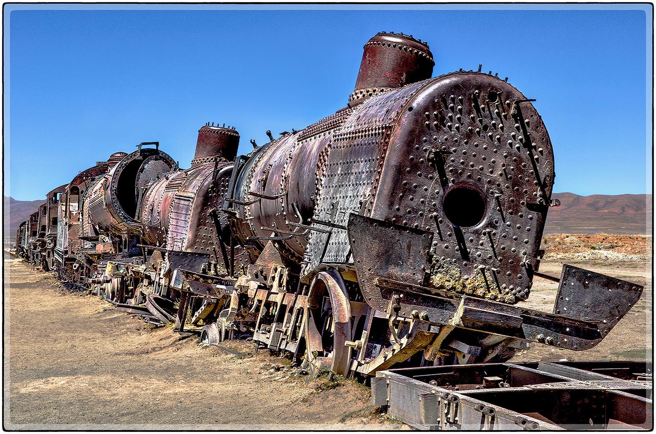 Trenes Extraviados en La Historia