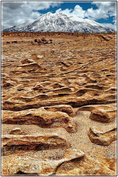 Mar de Lava, Valle de Rocas