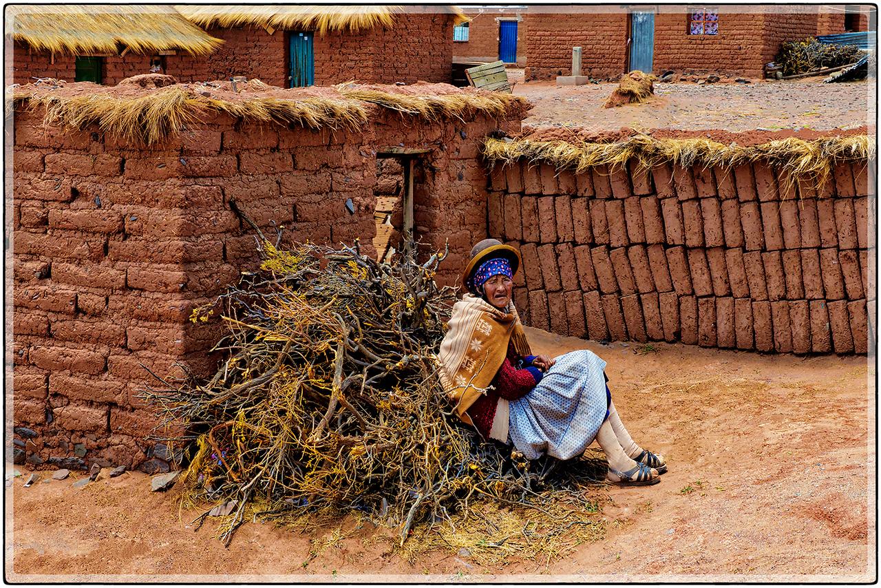 Anciana Boliviana