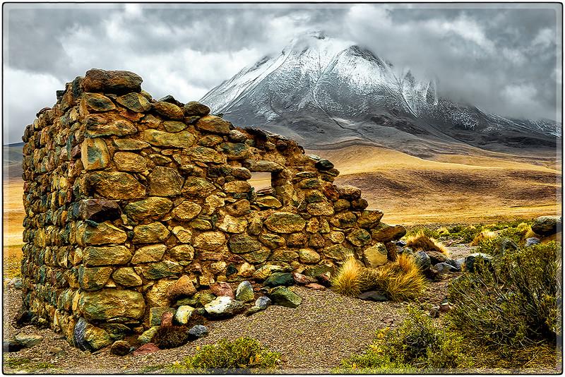Ruinas, Volcán Odiable