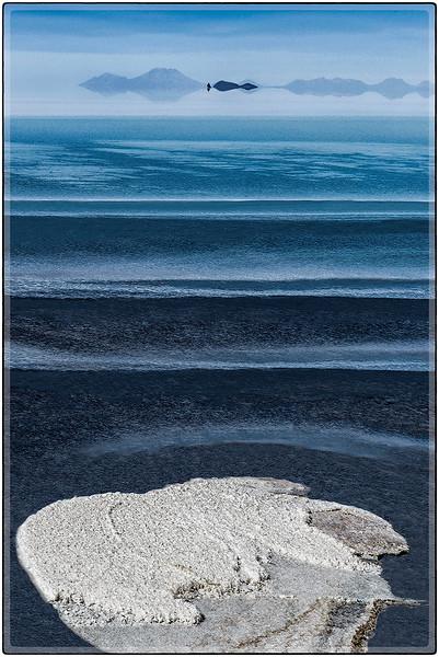 Parche de Sal en El Agua del Salar