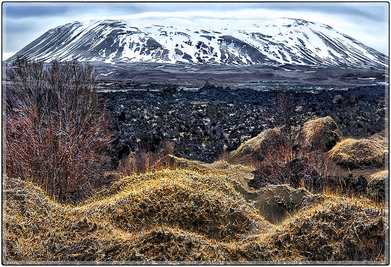 Lava Fields and Mesa