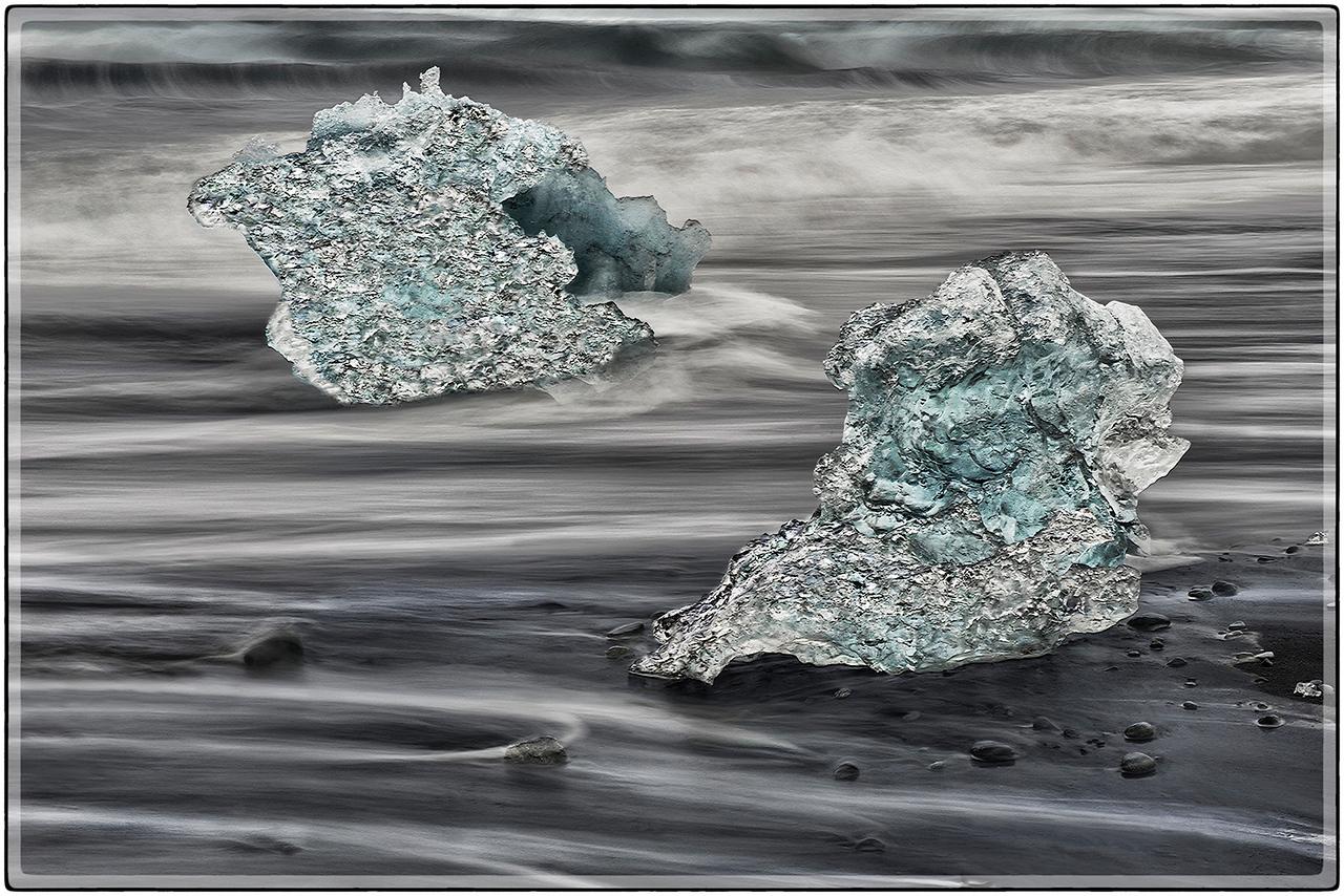 Ice In Receding Wave II