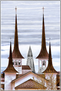 The Bell Towers of Reykjavik