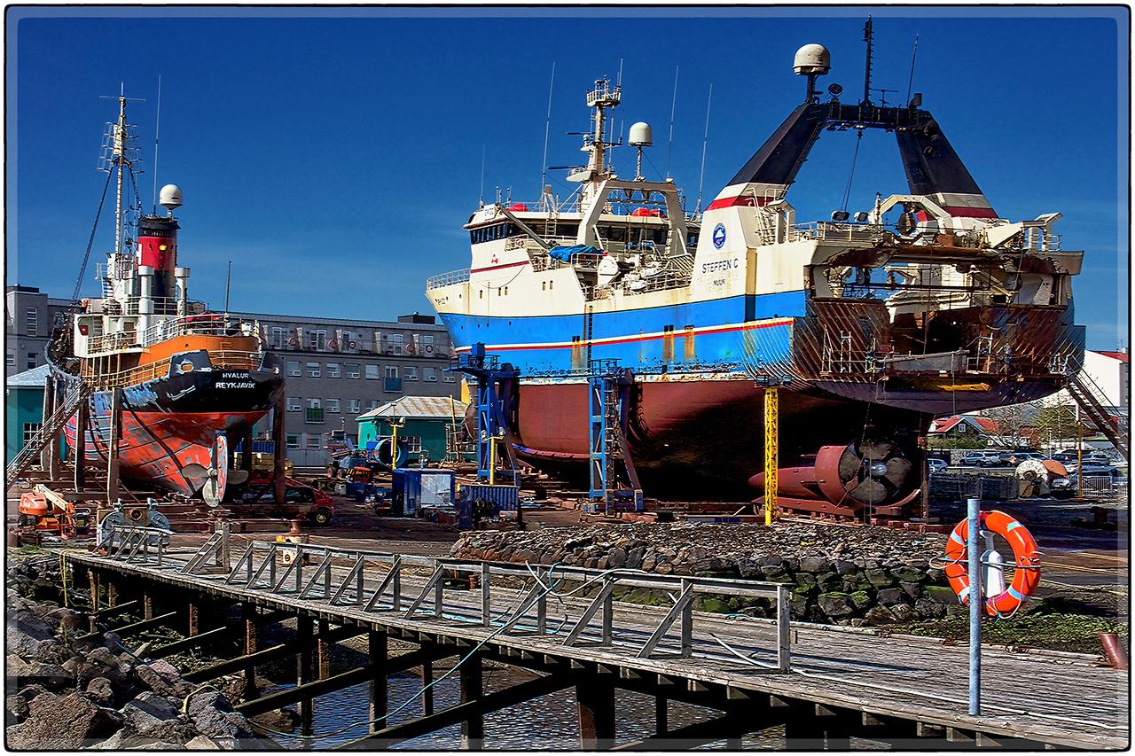 Shipyard At Reykjavik